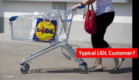 LIDL customer